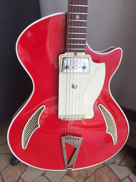 WANDRE Trilam Blue Jeans Red Guitar