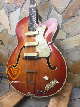1959 Hofner Model 457/S/E3/T Cherry Sunburst