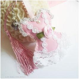 Bijoux de sac shabby chic , Corset girly,  porte clé romantique rose,   accessoire de mode, cadeau femme, pour elle