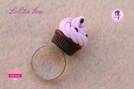 Cupcake chocolat/fraise et pépites