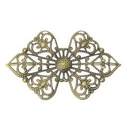 Metall Ornament Bronze Nr.30 10 Stück