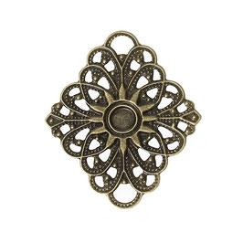 Metall Ornament Bronze Nr.52 10 Stück