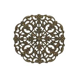 Metall Ornament Bronze Nr.22 10 Stück