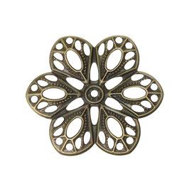 Metall Ornament Bronze Nr.24 10 Stück