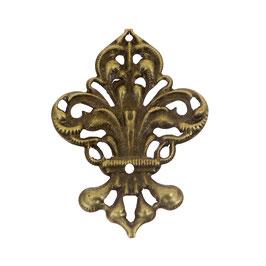 Metall Ornament Bronze Nr.36 10 Stück