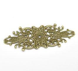 Metall Ornament Bronze Nr.2 10 Stück