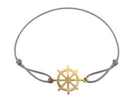 Armband Steuerrad  Edelstahl Gold