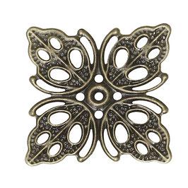 Metall Ornament Bronze Nr.34 10 Stück