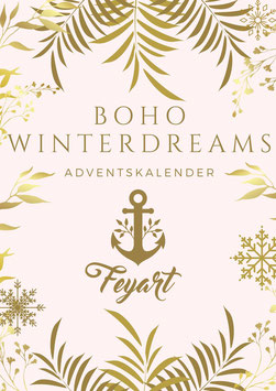 DELUXE Adventskalender Boho Winterdreams