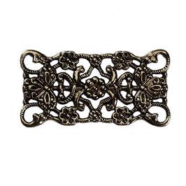 Metall Ornament Bronze Nr.53 10 Stück