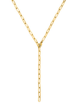 Edelstahl Kette Basic Gold