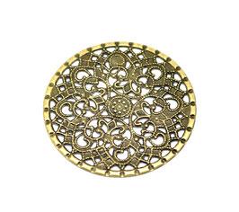 Metall Ornament Bronze Nr.45 10 Stück