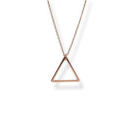 Luxury Dreieck Kette Rosegold