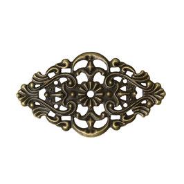 11 Metall Ornament Bronze Nr.11 10 Stück