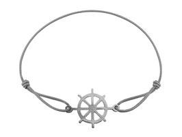 Armband Steuerrad  Edelstahl Silber