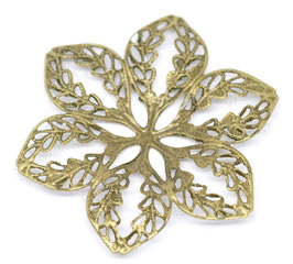 20 Metall Ornament Bronze Nr.20 10 Stück