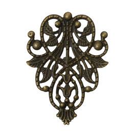Metall Ornament Bronze Nr.3 10 Stück