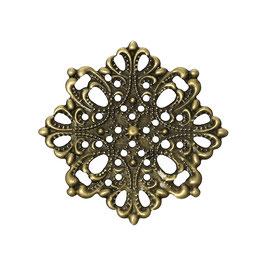 Metall Ornament Bronze Nr.25 10 Stück