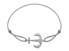 Armband Anker Edelstahl Silber