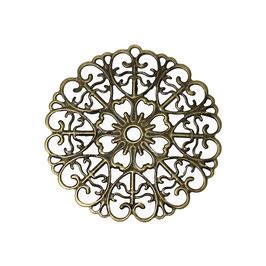 Metall Ornament Bronze Nr.23 10 Stück