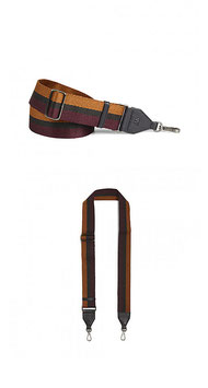 Finley Guitar Strap Camel/Bordeaux/Black