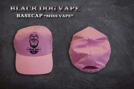 """Black Dog Vape BaseCap """" Miss Vape """""""