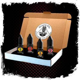 "Black Dog Vape Sample Box ""Fruity"""