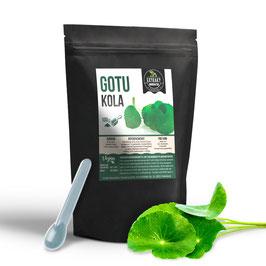 Gotu Kola Extrakt | 100g & 200g Pulver | hochdosiertes Pflanzenextrakt | naturrein - ohne Zusätze | in Deutschland abgefüllt