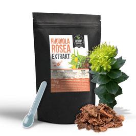 Rhodiola Rosea Rosenwurz EXTRAKT | 100g - 500g hochdosiertes Extrakt | naturrein - ohne Zusätze