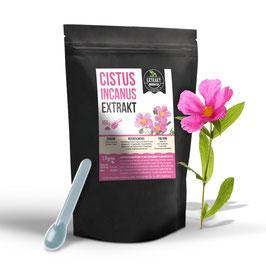 Cistus Incanus Extrakt (Zistrose) Pulver | 100g-500g | hochdosiert naturrein - ohne Zusatzstoffe