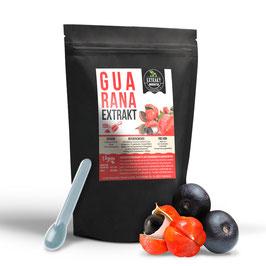 Guarana Extrakt Pulver | 10% Guaranaine | 100g - 200g | aus den Samen | hochdosiert, naturrein - ohne Zusätze | in Deutschland abgefüllt