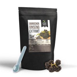 Sibirischer Ginseng Extrakt | 0,8% Eleutheroside | 100g - 500g hochdosiertes Extrakt | naturrein - ohne Zusätze| 100% vegan & in Deutschland abgefüllt