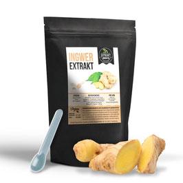 Ingwerextrakt 100g & 200g Pulver - Extrakt - 5% Gingerol | naturrein - ohne Zusätze | in Deutschland abgefüllt