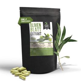 Olivenblatt EXTRAKT | 20% Oleuropein | 120 & 240 KAPSELN | 400mg hochdosiertes Extrakt | naturrein - ohne Zusätze
