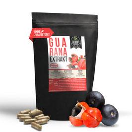 Guarana seed EXTRAKT |  10% Guaranaine  | 120 & 240 KAPSELN | 400mg je Kapsel | hochdosiert, naturrein - ohne  Zusätze | in Deutschland hergestellt
