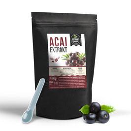 Acai-Beere 10:1 Extrakt | 100g-200g Extrakt Pulver | 100g Extrakt = 1kg Pulver | laborgeprüft |