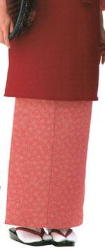 SK-9043    和風スカート (鮫桜・茜色)
