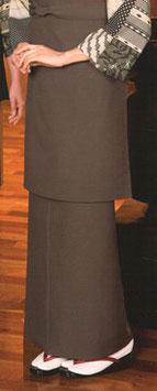 SK-9517    和風スカート (グレー)