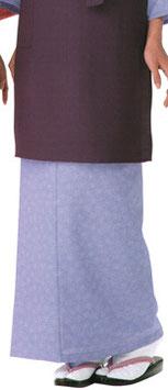 SK-9044    和風スカート (鮫桜・すみれ色)