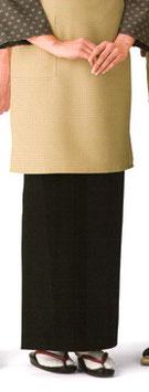 SK-9501    和風スカート (黒)