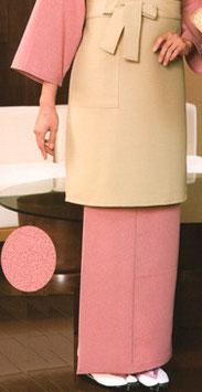 SK-9052    和風スカート(縁起鮫小紋・ピンク)