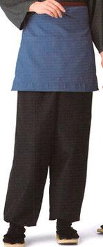 SP-5205    和風パンツ (紬・紺)