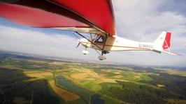 Gutschein für einen Rundflug