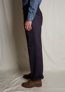 JACOB MP006 / Chino Straight Leg / 11oz Overdyed Indigo Twill 3X1