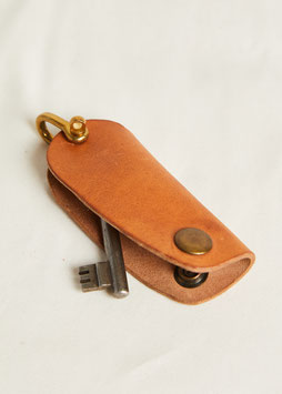 KEY HOLDER MA410 / 12 cm / full grain vegetable tanned leather