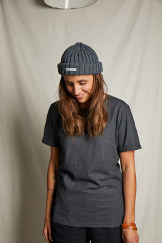 HOMER MT304/ simple t-shirt with the statement bird / anthracite