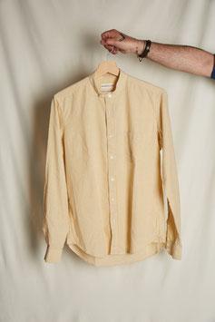 MARLON MS502 / Stand collar 1 pocket /  135gr, 100%cotton, Yellow Pinstripes