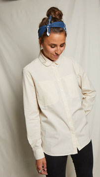 LUCY FS501 / Relaxed - round collar / 4,75 oz, 100% Cotton Panama, Natural Ecru