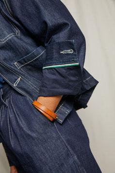 JANIS FJ100 / Worker jacket / 11oz selvedge pure indigo selvedge