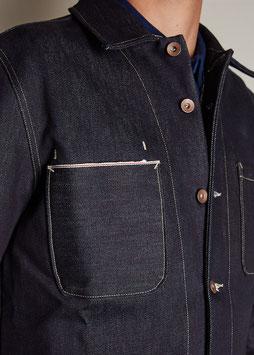 DARWIN MJ100 / Worker Jacket / Pure blue selvedge 16oz